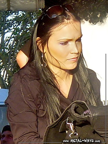 Nightwish, Signing Session @ Wacken Open Air (Tarja Turunen)