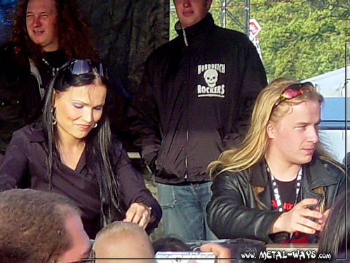 Nightwish, Signing Session @ Wacken Open Air (Tarja Turunen, Emppu Vuorinen)