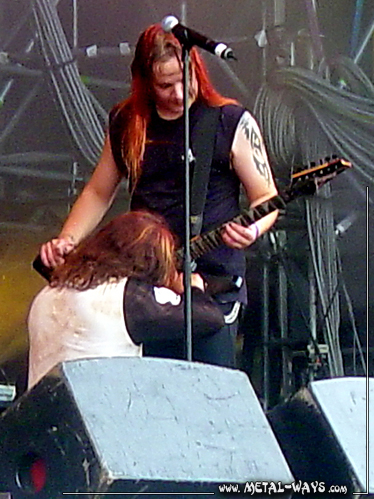 Sonata Arctica @ Wacken Open Air (Tony Kakko, Jani Liimatainen)