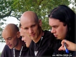 Within Temptation, Signing Session @ Wacken Open Air (Jeroen Van Veen, Martijn Spierenburg, Robert Westerholt, Stephen Van Haestregt)