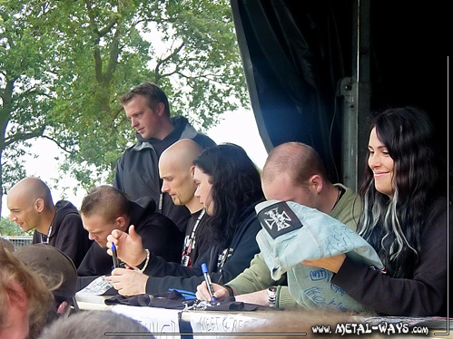 Within Temptation, Signing Session @ Wacken Open Air