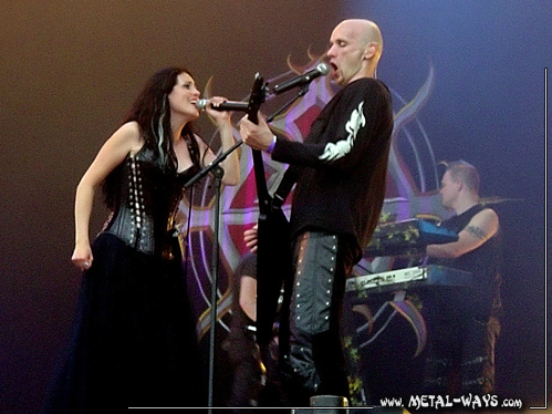 Within Temptation @ Wacken Open Air (Sharon Den Adel, Robert Westerholt)