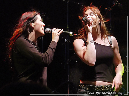 After Forever @ Bêkefeesten (Sharon Den Adel, Floor Jansen)