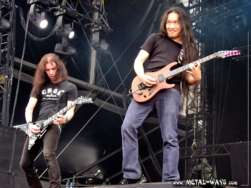 DragonForce @ Graspop Metal Meeting (Sam Totman, Herman Li)