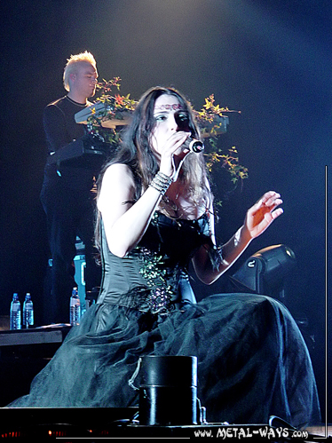 Within Temptation @ B�kefeesten (Martijn Spierenburg, Sharon Den Adel)