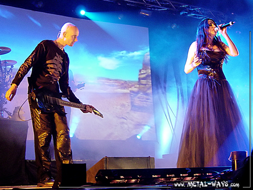 Within Temptation @ B�kefeesten (Robert Westerholt, Sharon Den Adel)