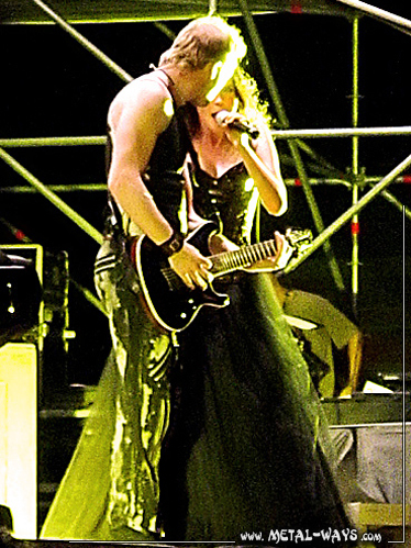 Within Temptation @ Evolution Festival (Ruud Jolie, Sharon Den Adel)