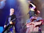 Within Temptation @ M'era Luna (Robert Westerholt, Sharon Den Adel)