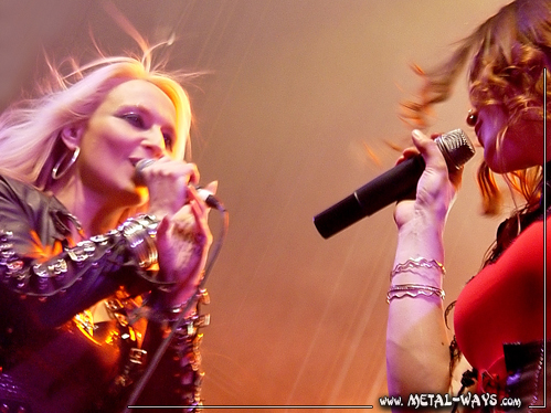 After Forever, Release Party @ Tivoli (Doro Pesch, Floor Jansen)