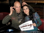 Within Temptation, Press Conference (Robert Westerholt, Sharon Den Adel)