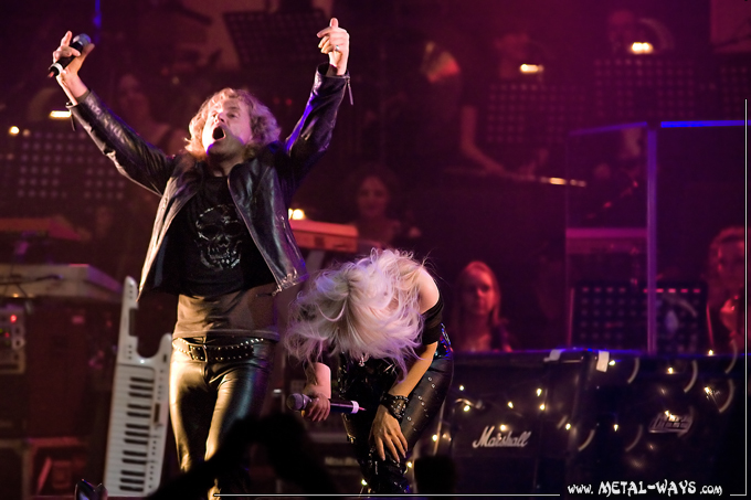 Christmas Metal Symphony @ 013 (Ian Parry and Doro)