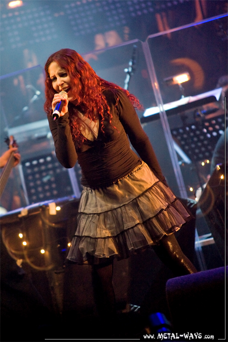 Christmas Metal Symphony @ 013 (Marcela Bovio from Stream Of Passion)