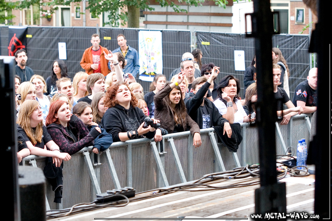 Delain @ Trailerpop (Audience)