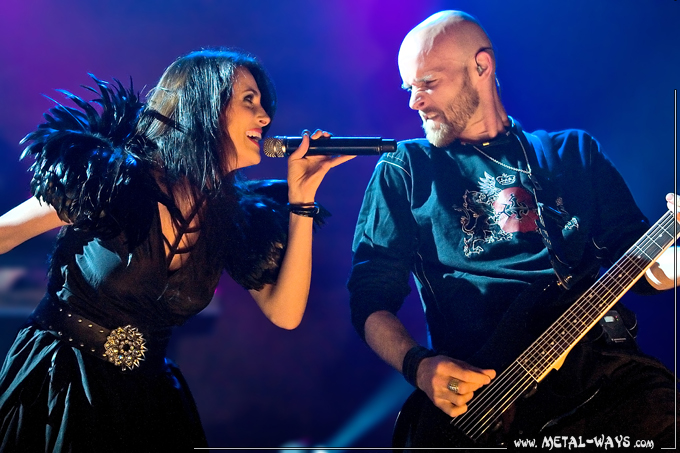Within Temptation @ B�kefeesten (Sharon Den Adel, Robert Westerholt)