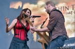 Within Temptation @ Rock en France (Sharon Den Adel, Ruud Jolie)