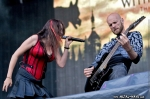 Within Temptation @ Rock en France (Sharon Den Adel, Robert Westerholt)