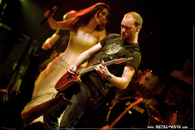 Within Temptation @ Muziekcentrum (Sharon Den Adel, Ruud Jolie) Theater Tour Enschede