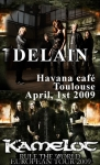 Delain @ Havana Cafe (support for Kamelot)