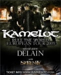 Kamelot - Rule the World European tour 2009