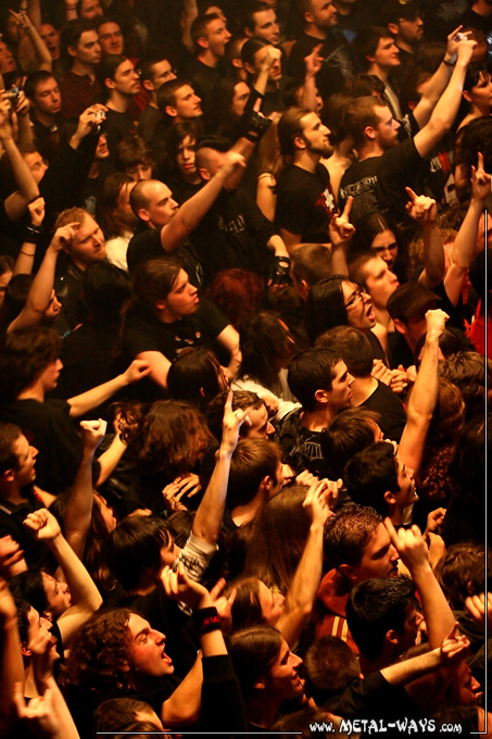 Arch Enemy @ Le Bataclan (Audience)